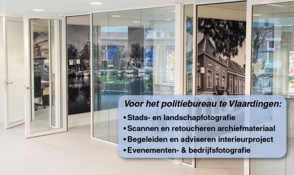 Ton de Koning, stads-, landschaps- en bedrijfsfotografie voor het politiebureau Vlaardingen.