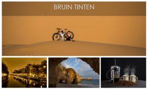 Bruin tinten collectie