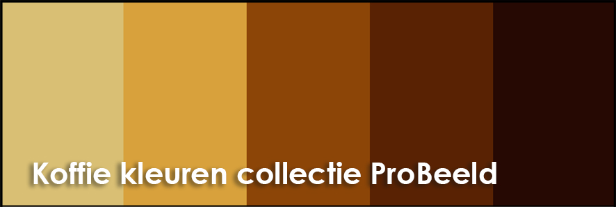 Koffie kleuren